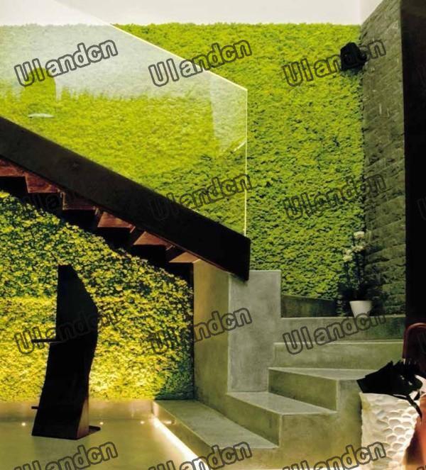 仿真植物墙-酒店装饰