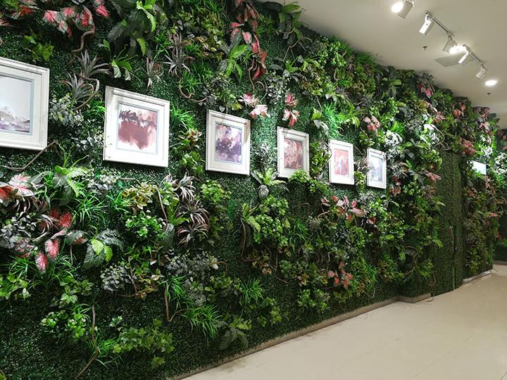室内仿真植物墙