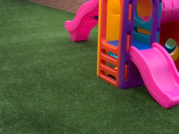 幼儿园小操场人造草坪