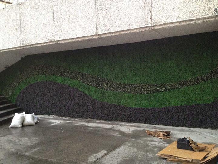 仿真植被墙