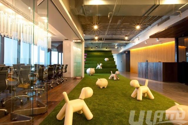 办公室装饰用仿真草坪