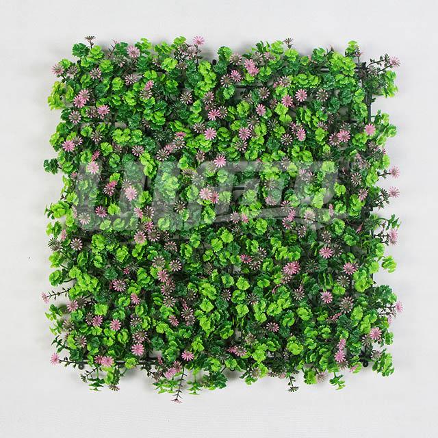 墙上仿真绿植A087粉色