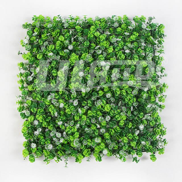 墙上仿真绿植A087-白色